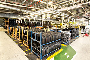 Wheel and Tyre Assembly Plant